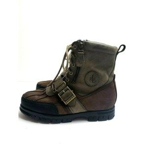 Ralph Lauren Quillan Duck Hiking Snow Boots